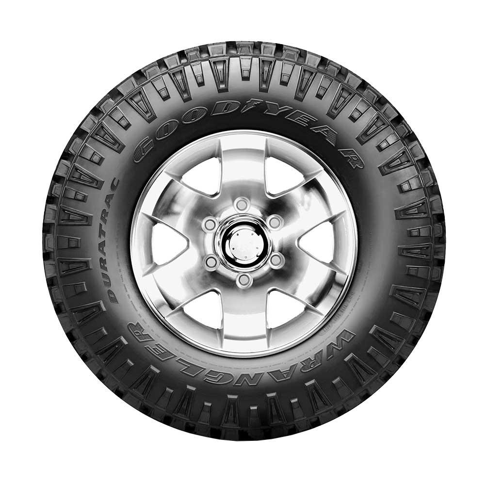 Land Rover Onçafari Rally dos Sertões - pneus Goodyear Wrangler Duratrac 255/70 R18A