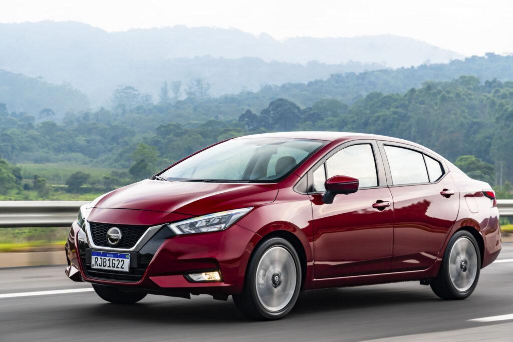 Novo Nissan Versa 2021 Versão Exclusive CVT Frente