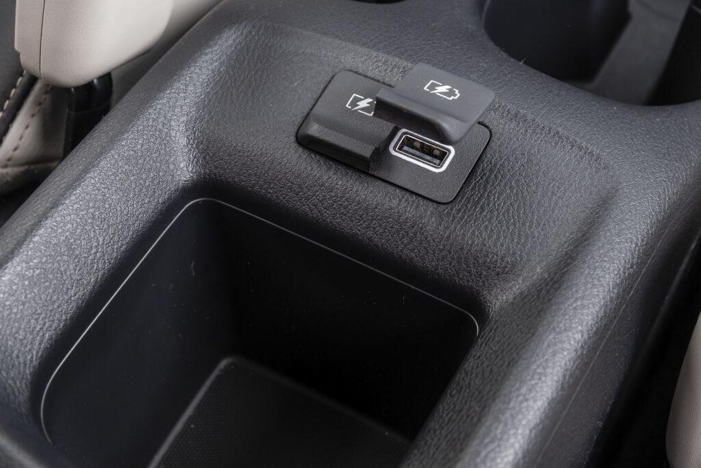 Nissan Versa 2021 Versão Exclusive CVT - Entradas USB