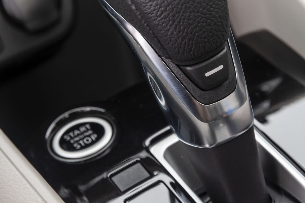 Nissan Versa 2021 Versão Exclusive CVT - Botão de partida