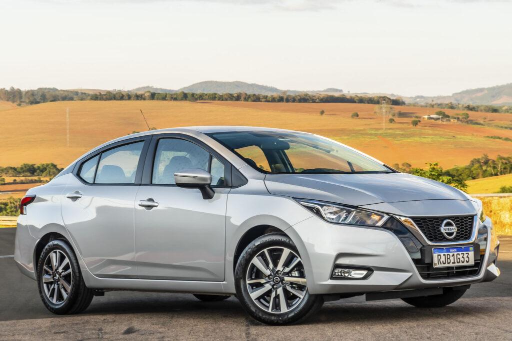Novo Nissan Versa 2021 Versao Advance CVT Frente