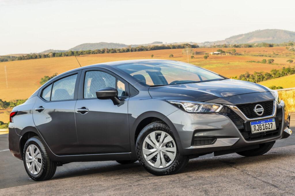 Nissan Versa 2021 Versão Sense CVT - Frente