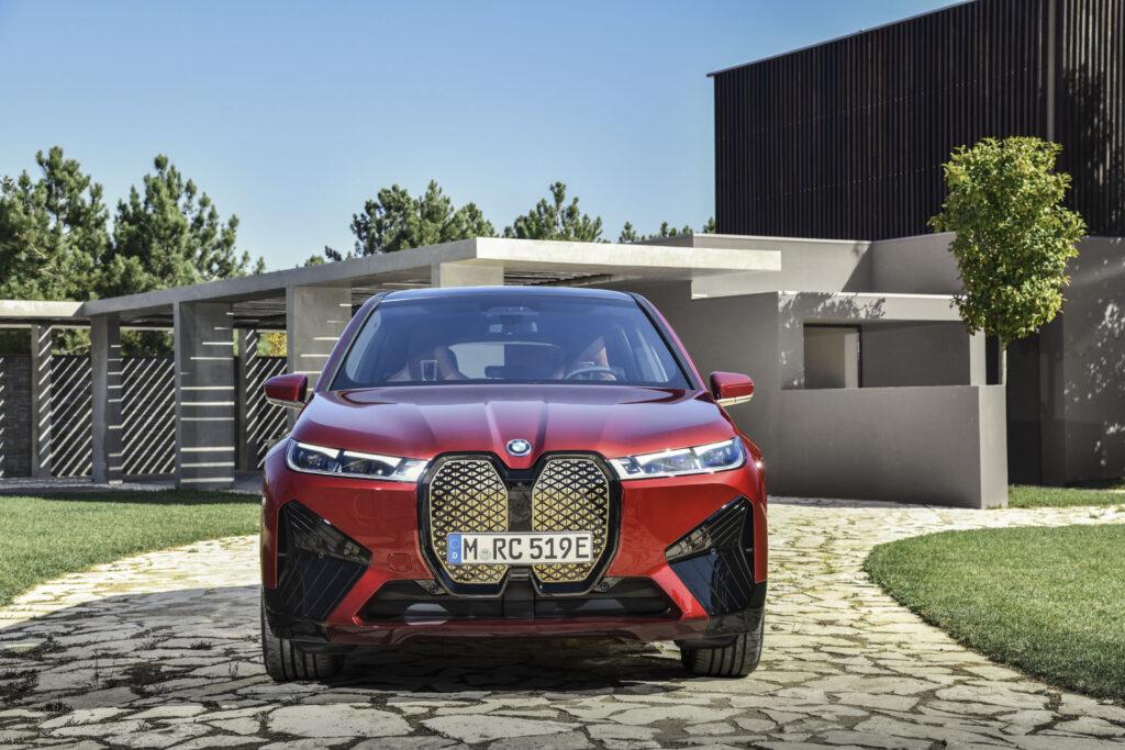 BMW iX elétrico